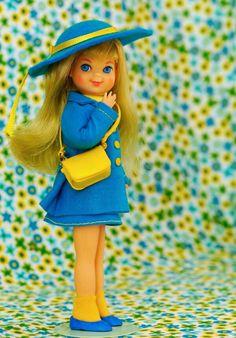 Barbie's baby sister, Kelly.