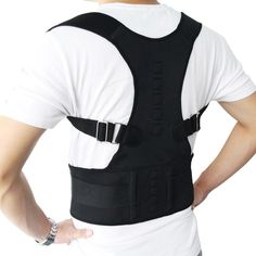 TIME SALE : Aptoco Magnetic Therapy Posture Corrector Brace Shoulder Back Support Belt for Braces & Supports. Title: Aptoco Magnetic Therapy Posture Corrector Brace Shoulder Back Support Belt for