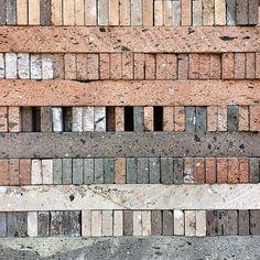 Mexican Bricks #architecture #archdaily #mexico #brick #instagood #iphonesia #materials (at Las Trajineras Xochimilco)