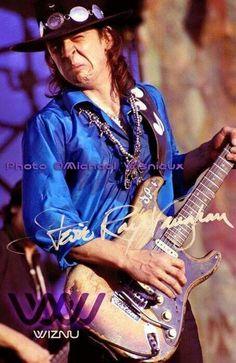 Stevie Ray Vaughan : Chicagofest 1983 - Limited Edition 1 of 100 Photograph Stevie Ray Vaughan Guitar, Steve Ray Vaughan, Joe Bonamassa, Best Guitarist, Rockn Roll, Blues Music, Rock Legends, Blues Rock, Music Photo