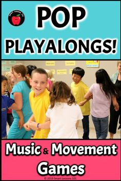 Resource includes a variety of activities to use with Boomwhackers, recorder and percussion play-alongs, as well as listening, rhythm reading, and cup games. Songs include: Limbo Rock; YMCA; Chicken Dance; Hokey Pokey; Locomotion; Mexican Hat Dance and Cha Cha Slide. Includes instructions, interactive powerpoints, mp3s & demo movies. Music Sub Plans, Music Lesson Plans, Music Lessons, Music Activities For Kids, Music For Kids, Movement Activities, Dance Class Games, Elementary Music, Elementary Education