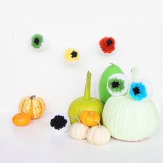 Check this out: Halloween DIY: Eyeball Pom Pom Garland. https://re.dwnld.me/6jFzh-halloween-diy-eyeball-pom-pom-garland