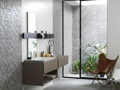 25 Creative 3D Wall Tile Designs To Help You Get Some Texture On Custom Mosaic Feature Tiles Bathroom Design Inspiration
