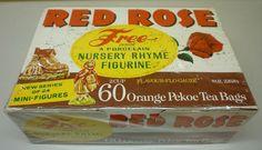 Gumball, Orange Pekoe Tea, Nursery Rhyme Characters, Ebay Store Design, Party Prizes, Red Rose Tea, Rose Nursery, Tea Tins, Tea Box