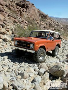 60's Ford Bronco.....