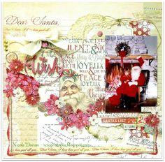 Dear Santa Wish (scrap-utopia) - Scrapbook.com