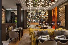Rosewood London. My favourite London hotel. Love the chesterfield sofas and the chairs.