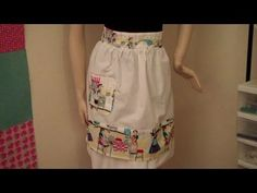 How to Make a 1950's Vintage Style Apron Part 2 (+playlist)