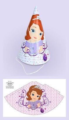 Discover all you need to know about Disney, Marvel and Star Wars movies, live shows, holidays, parks and the latest magical gifts and toys in the Disney Shop. Sophia The First Birthday Party Ideas, First Birthday Hats, Birthday Party Hats, Princess Sofia Birthday, Ballerina Birthday, Disney Princess Party, Girl Birthday, Family Crafts, Christmas Crafts For Kids