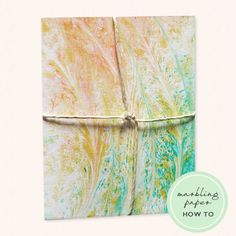 We've got another DIY project to share with you! Emily from Flower Box Event created marbled paper for a Kitchen-Themed Bridal Shower invitation and was kind enough to share the simple steps. For their event, Emily adhered the marbled paper to a ...