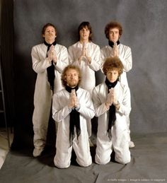(top L-R)Drummer Michael Clarke, singer Gram Parsons, guitarist Bernie Leadon, (bottom L-R) pedal steel player 'Sneaky' Pete Kleinow and bassist Chris Hillman of the country rock band, The Flying Burrito Brothers
