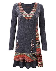 Joe Browns Mix It Up Jumper | Simply Be#colour:Blue/Multi-coloured,size: