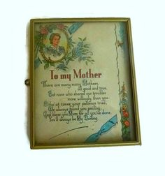 Victorian Mothers Day Print Vintage by PopcornVintageByTann