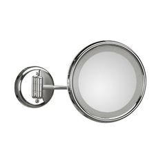 WS Bath Collections Lucciolo 2 Collection Mirror Pure III Magnifying/Makeup Mirror with Incandescent Light