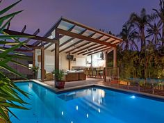 Pool and outdoor entertainment area, Holland Park Brisbane Renovation of entertainment, pool and gazebo.