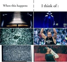 You know you're a WWE fan when...
