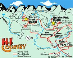 Moraine Park Stables Map
