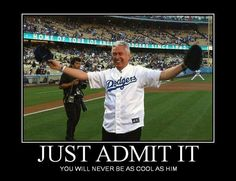 I admit it