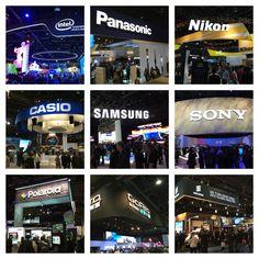 Impressive #booths at #CES Las Vegas