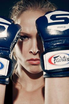 Ronda Rousey; my hero. I will never be such a badass