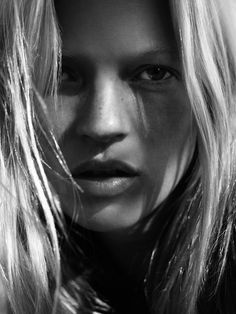 Kate Moss - Dazed & Confused by David Sims