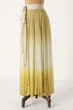 Endless Ombre Skirt.  I want to wear skirts all summer long!