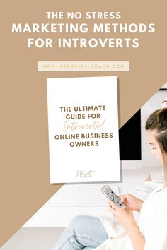The best business guide and marketing tips for introverted business owners who want to grow their business but aren't a fan of putting themselves out there on video constantly like extroverts. #marketingtips #introvert #introvert #entrepreneurtips #businessmarketing Marketing Professional, Small Business Marketing, Marketing And Advertising, Business Tips, Online Business, Content Marketing, Social Media Content, Social Media Tips, Project Management Templates