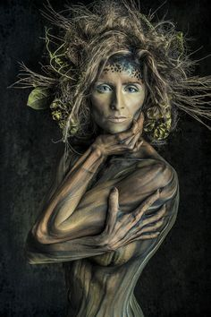 31 Days of Photographers that Inspire: Day Scott Detweiler-Visualizing mesmerizing portraits and an incredible resource to learn Photoshop skills from 3d Fantasy, Fantasy Makeup, Look Body, Face And Body, Learn Photoshop, Fantasy Photography, Fx Makeup, Makeup Eyes, Hair Makeup