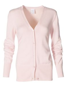 With high ribbed edging and V-neck, this garment has all the attributes of a feminine classic. Easy-care stretch viscose that caresses the skin in a slightly tapered short cut, with long sleeves and matching buttons. Pastell Highlights, Pastel Colors, Colours, Madeleine Fashion, Trends, Knitwear, Cardigans, Sweaters, Feminine