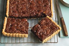 A showstopping dessert that will have your guests coming back for more, this pecan slab pie looks elegant and complex, but instead is simple and delectable.  Our foolproof pastry topped with a chocolate-pecan pie filling makes for a dream dessert. Easy as pie!