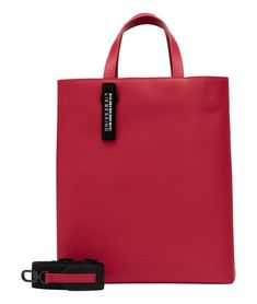 Paperbag M Red Pepper Liebeskind Berlin Carter Nappa Security Tag