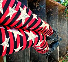 Hey, I found this really awesome Etsy listing at https://www.etsy.com/listing/210700783/punk-pirate-star-and-stripes-leggings