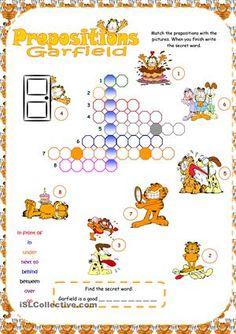 Crossword Prepositions worksheet - Free ESL printable worksheets ...