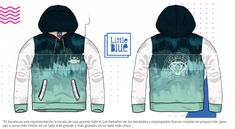 Mi diseño Little Blue Adidas Jacket, High Fashion, 21st, Athletic, School, Jackets, Design, Templates, Vestidos