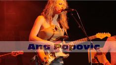 Ana Popovic: Clearwater Florida - Sea Blues Festival 2018    Ana Popovic: Clearwater Florida - Sea Blues Festival 2018  Ana Popovic 2018 02 25 Clearwater Florida - Sea Blues Festival  Ana Popovic