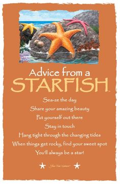Advice from a Starfish Frameable Art Card – Your True Nature, Inc. Advice Quotes, Life Advice, Good Advice, Wisdom Quotes, Life Quotes, Owl Quotes, Truth Quotes, Daily Quotes, Relationship Quotes