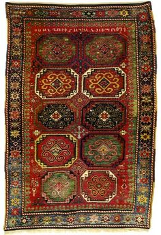 The educational rug photo-gallery with Karabagh rugs is one of the first published sections of Jozan Magazine. Images in the Karabagh rug gallery are published with permission from auction houses, dealers, collectors or museums. Craftsman Rugs, Craftsman Homes, Persian Carpet, Persian Rug, Rustic Rugs, Cool Rugs, Red Rugs, Tribal Rug, Woven Rug