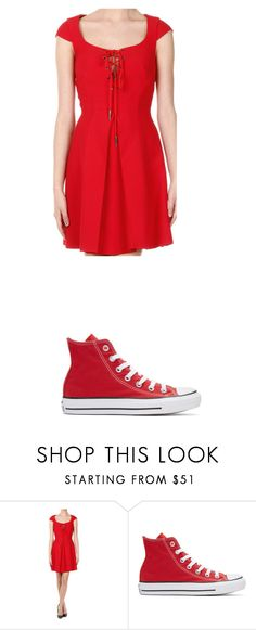 """Untitled #1071"" by laurie-egan on Polyvore featuring Miu Miu and Converse"