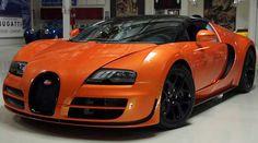 Orange Bugatti Veyron | bugatti-veyron-grand-sport-orange
