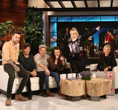 """One Direction talks about Zayn's departure from the band, taking the next year off and they play a hilarious game of 'Never Have I Ever' with Ellen. 