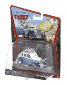 Disney Pixar Cars 2 Oversize Deluxe Diecast - The Queen: Amazon.co.uk: Toys & Games