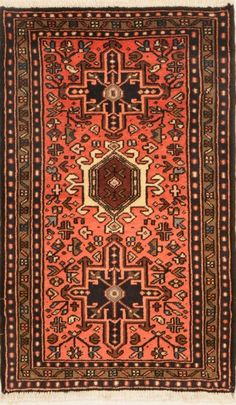 Karaja Woven: Hand Knotted Size: 2′ x 3'5″