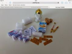 Ingeltingels mini world: Continued medical supplies a picture not a tutorial