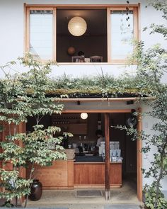 Japan has a strong culture of coffee, and you'll find in every city, there's always a coffee shop. With these 7 coffee shops not to miss in Kyoto Cafe Restaurant, Restaurant Am Wasser, Cafe Bar, Coffee Shop Design, Cafe Design, House Design, Design Shop, Store Front Design, Interior Exterior