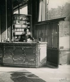 Guerlain's Champs_Elysées boutique, 1934. Mom loved Shalimar. I think she would have liked this picture.
