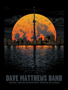 Dave Matthews Band concert poster, by Mark McDevitt of Methane Studios Dave Matthews Band Posters, Concert Posters, Music Posters, Tour Posters, Poster S, Music Artists, Illustrations Posters, My Idol, Concerts