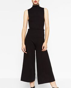 Image 2 of HIGH NECK JUMPSUIT from Zara