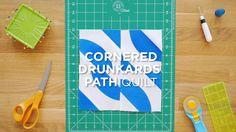 Quilt Snips Mini Tutorial - Cornered Drunkard's Path