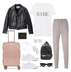 """Untitled #5280"" by theeuropeancloset on Polyvore featuring Le Kasha, Vans, Acne Studios, Alexander Wang, Le Specs, Luv Aj, Witchery, Yves Saint Laurent and CalPak"