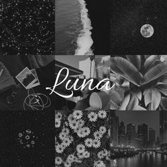 Luna // name aesthetic